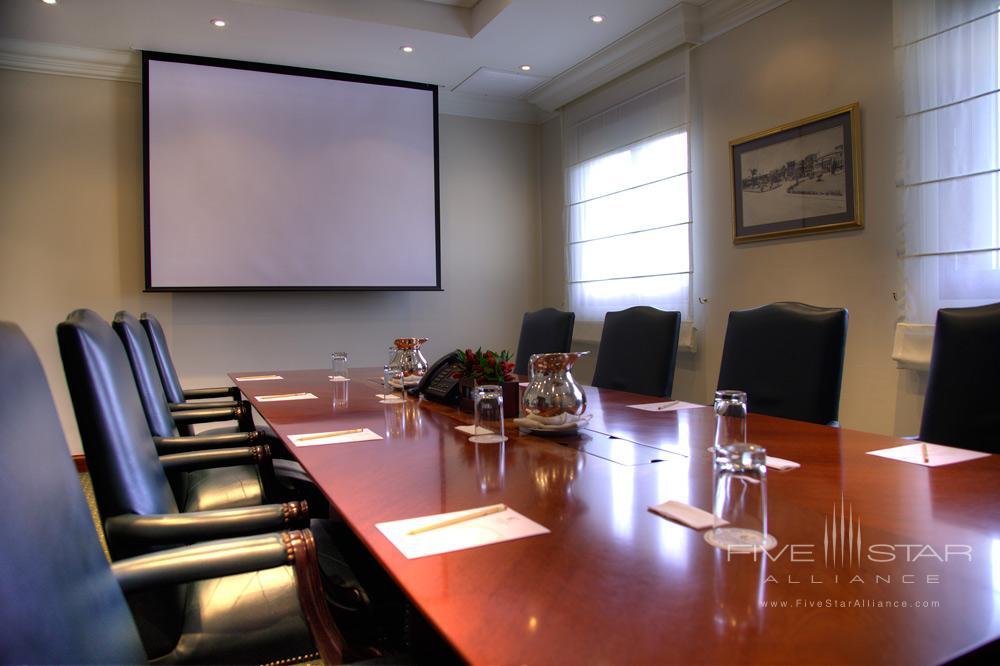 Boardroom at Country Club Lima Hotel, Peru