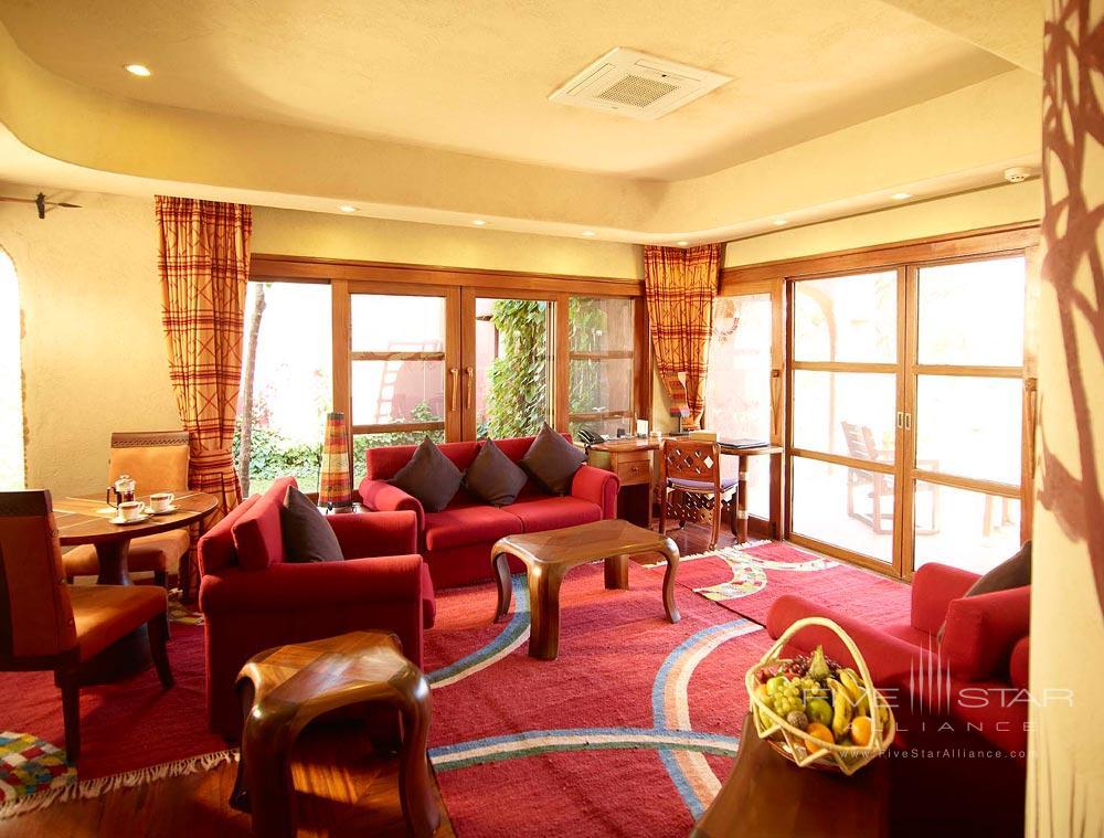 Suite Lounge at Amboseli Serena Safari LodgeAmboseliKenya