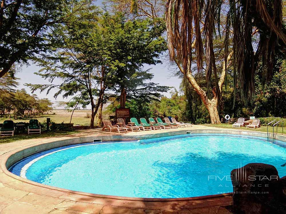 Swimming Pool at Amboseli Serena Safari LodgeAmboseliKenya