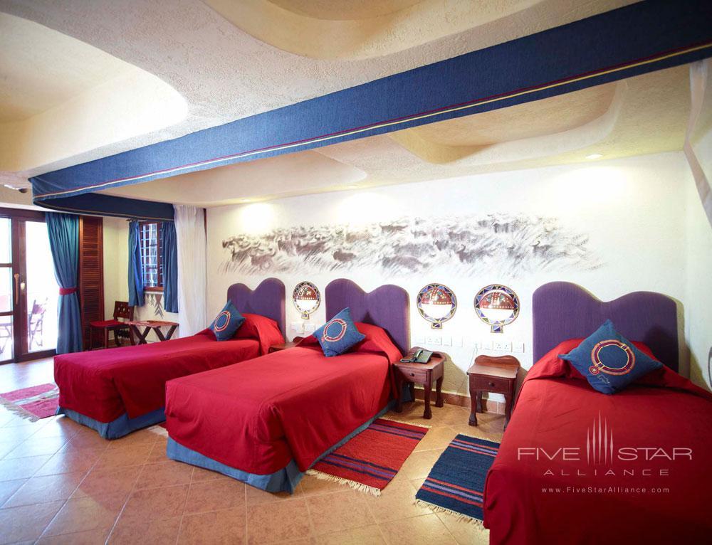 Triple Guest Room at Amboseli Serena Safari LodgeAmboseliKenya