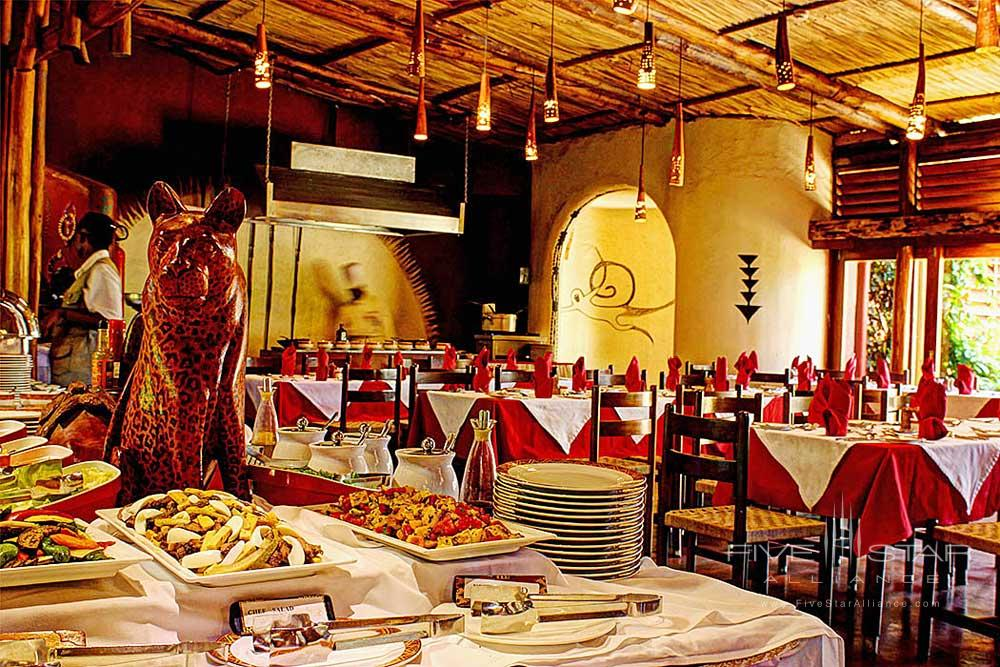 Dining Room at Amboseli Serena Safari LodgeAmboseliKenya