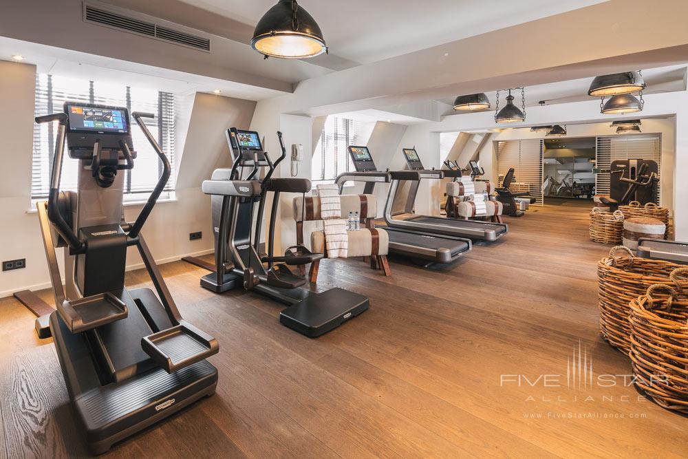 Fitness Center at Fairmont View Jahreszeiten Hamburg, Germany
