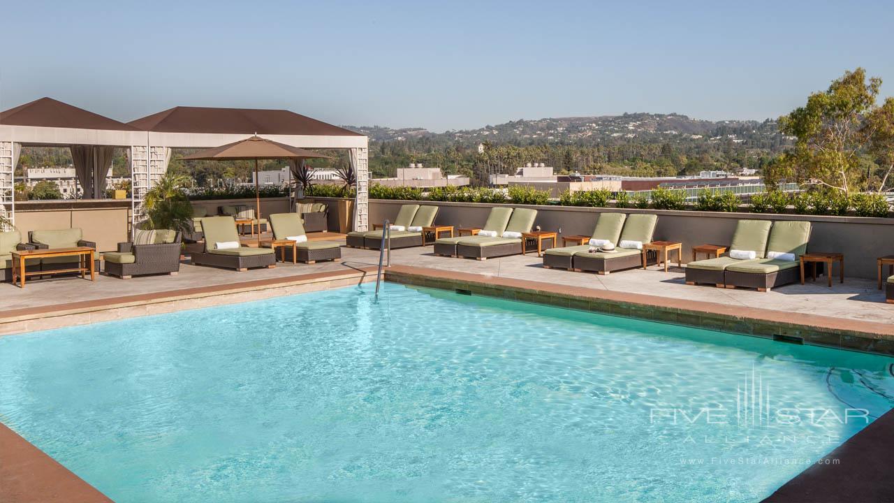 LErmitage Beverly Hills Pool