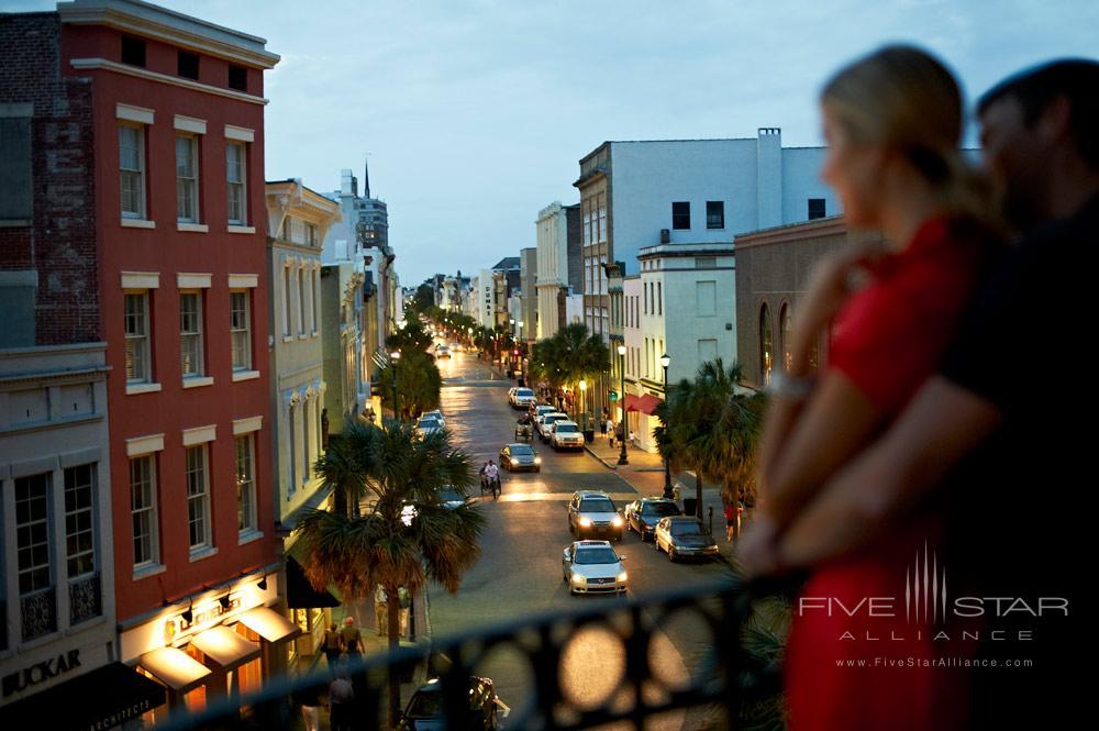 Enjoy views of historic King Street at Belmond Charleston Place