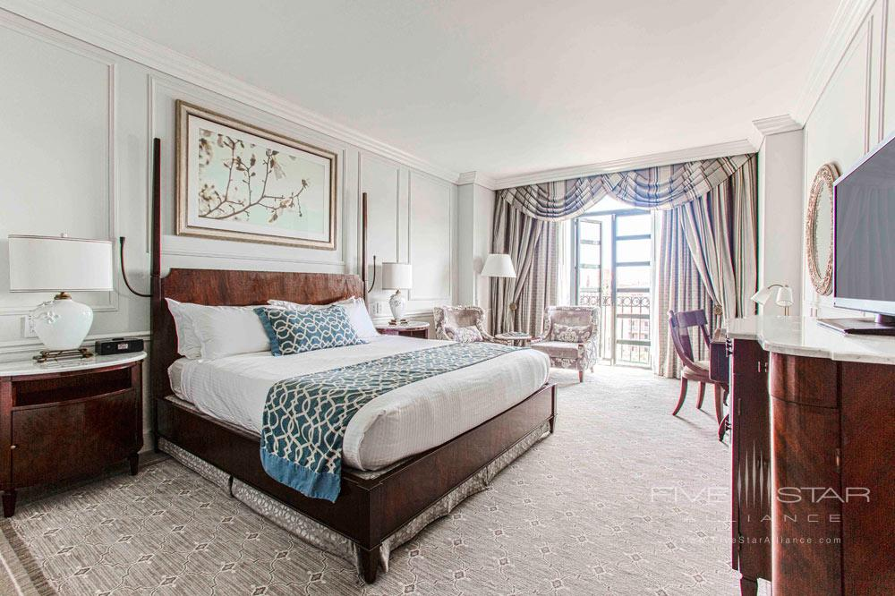 Premier balcony guestroom at Belmond Charleston Place, Charleston SC