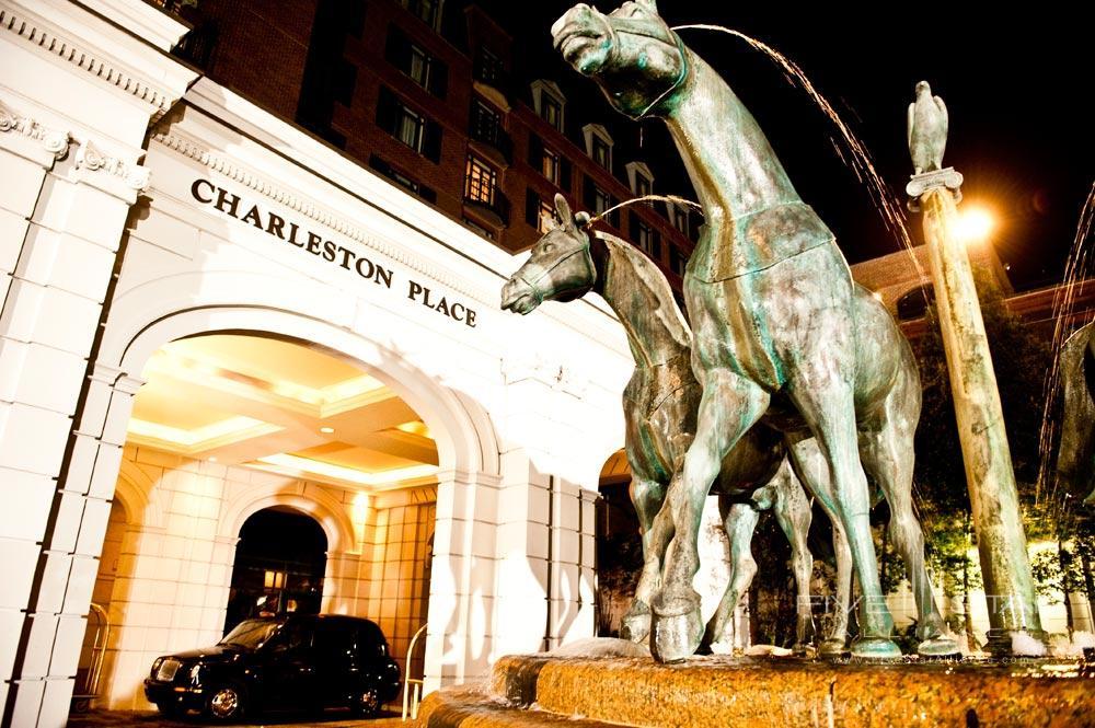 Belmond Charleston Place hotel entrance, Charleston SC