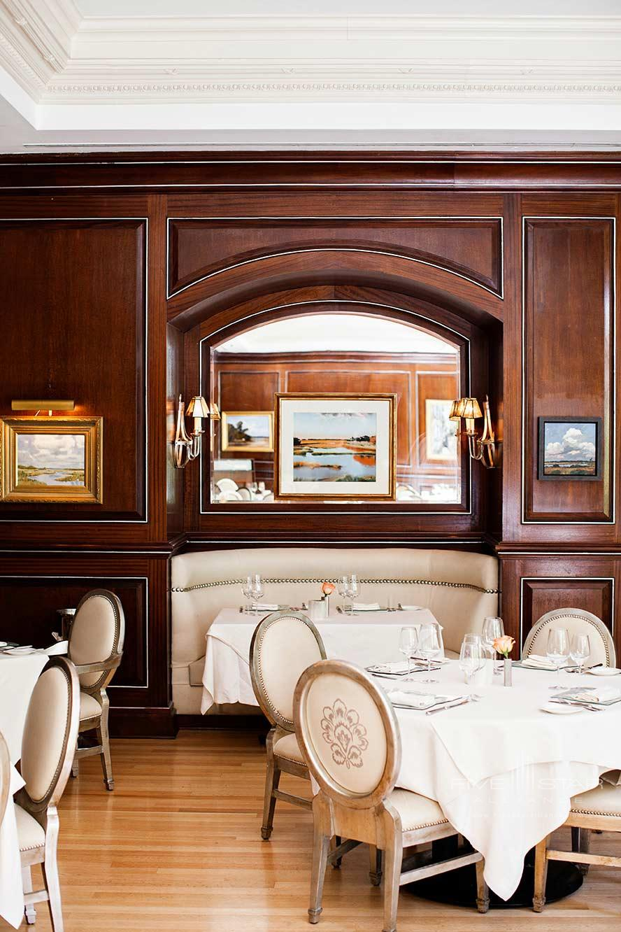 Dining at Belmond Charleston Place