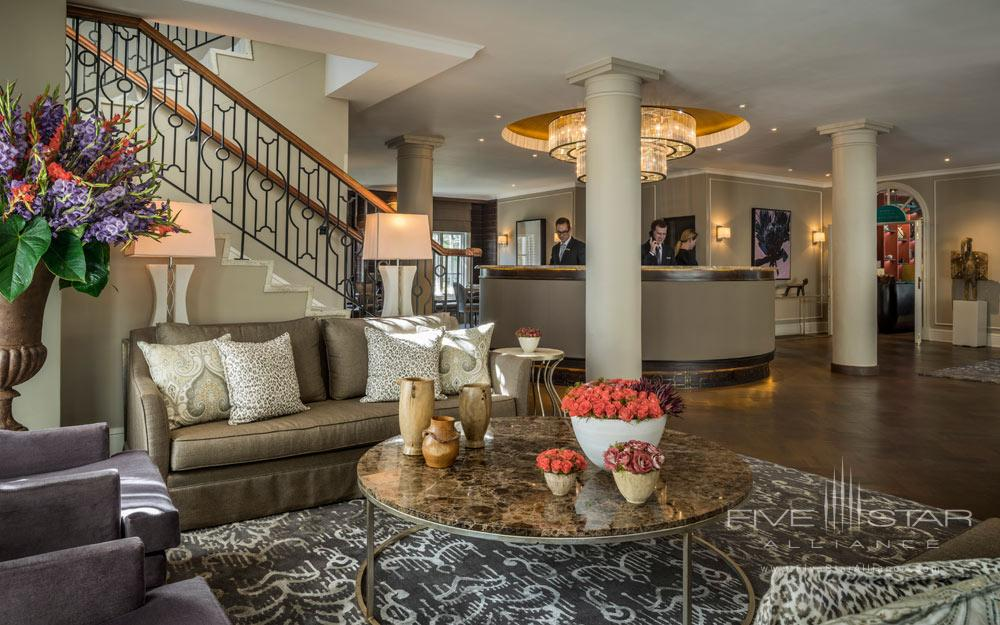 Reception at Four Seasons Hotel WestcliffJohannesburgSouth Africa