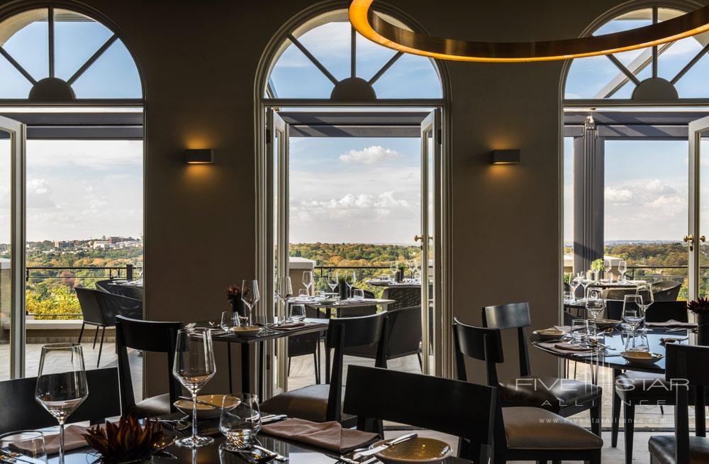 Dining at Four Seasons Hotel WestcliffJohannesburgSouth Africa