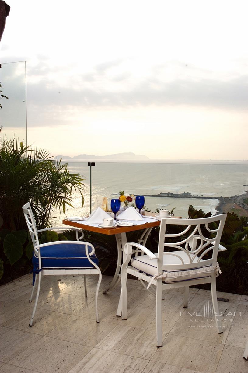 Miraflores Park Hotel Restaurant View