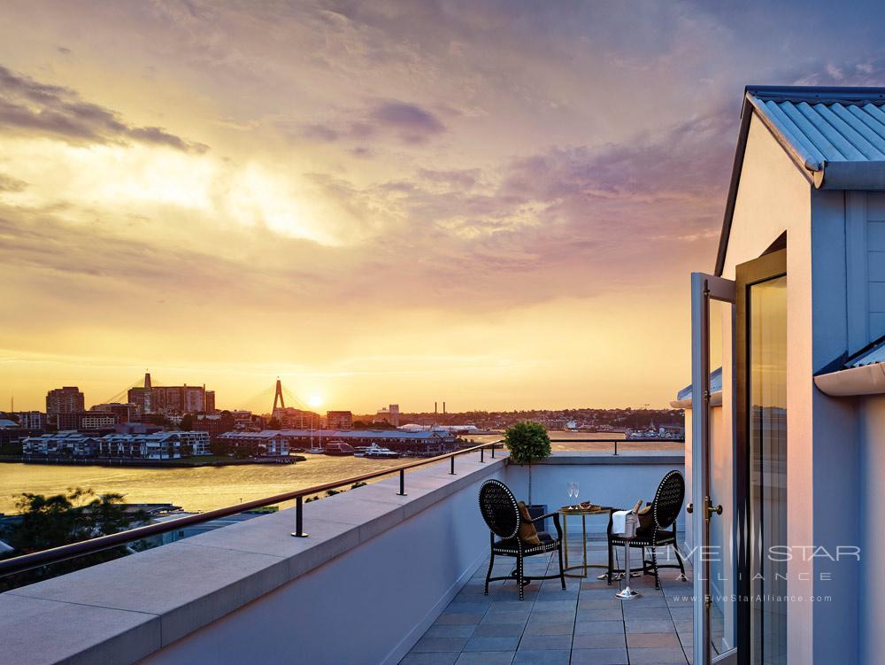 Terrace Suite at The Langham Sydney