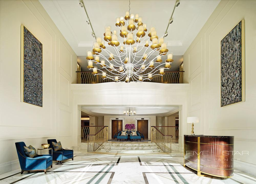 Lobby at The Langham Sydney