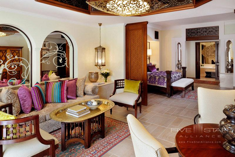 Accommodation at One and Only Royal Mirage Palace, Dubai