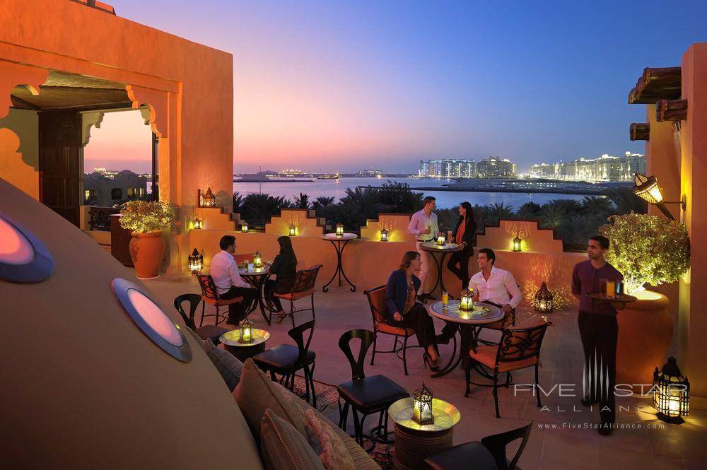 Dining at One and Only Royal Mirage Palace, Dubai