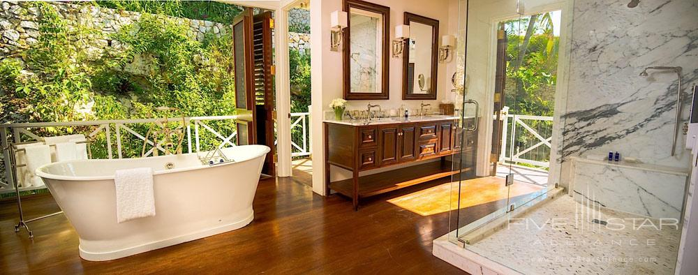 Villa Guest Bath at Round Hill Hotel And Villas Montego BayJamaica