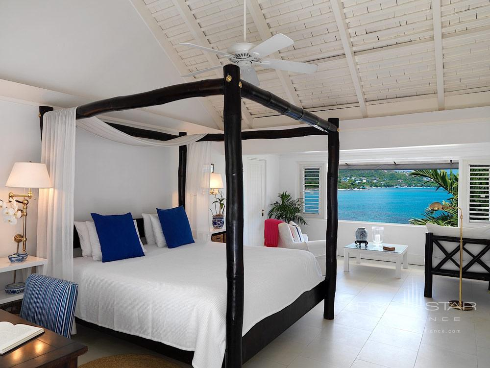 Ocean Front Guest Room at Round Hill Hotel And Villas Montego BayJamaica