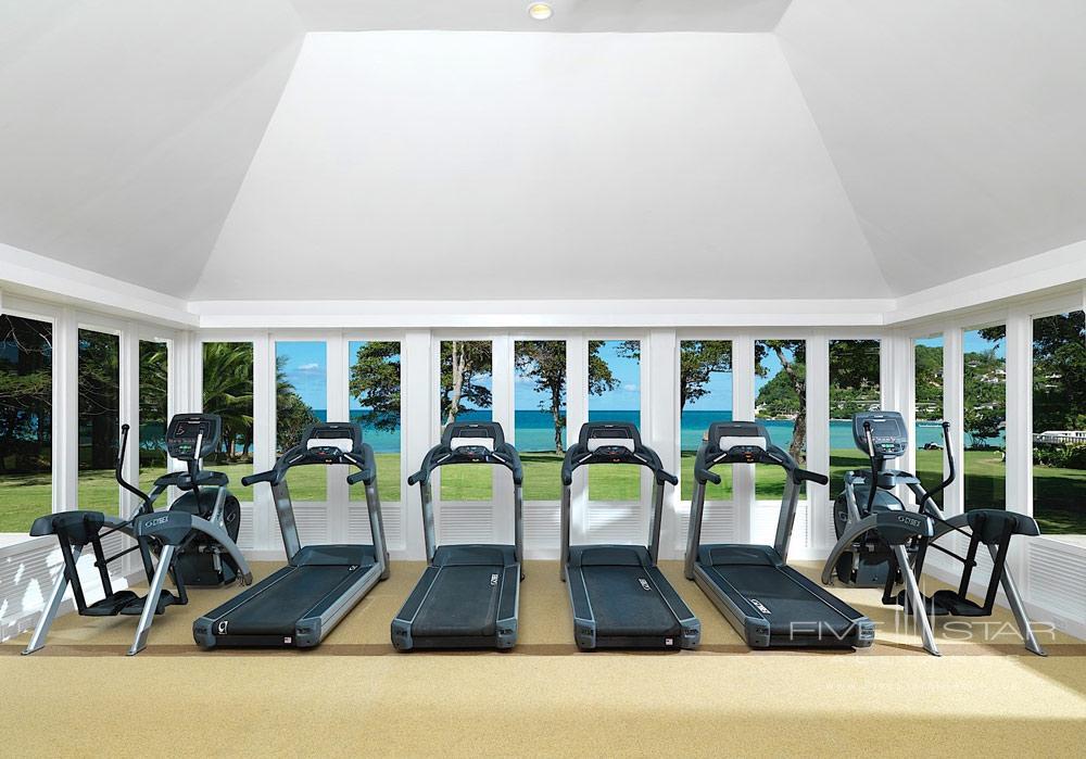 Fitness Center at Round Hill Hotel And Villas Montego BayJamaica