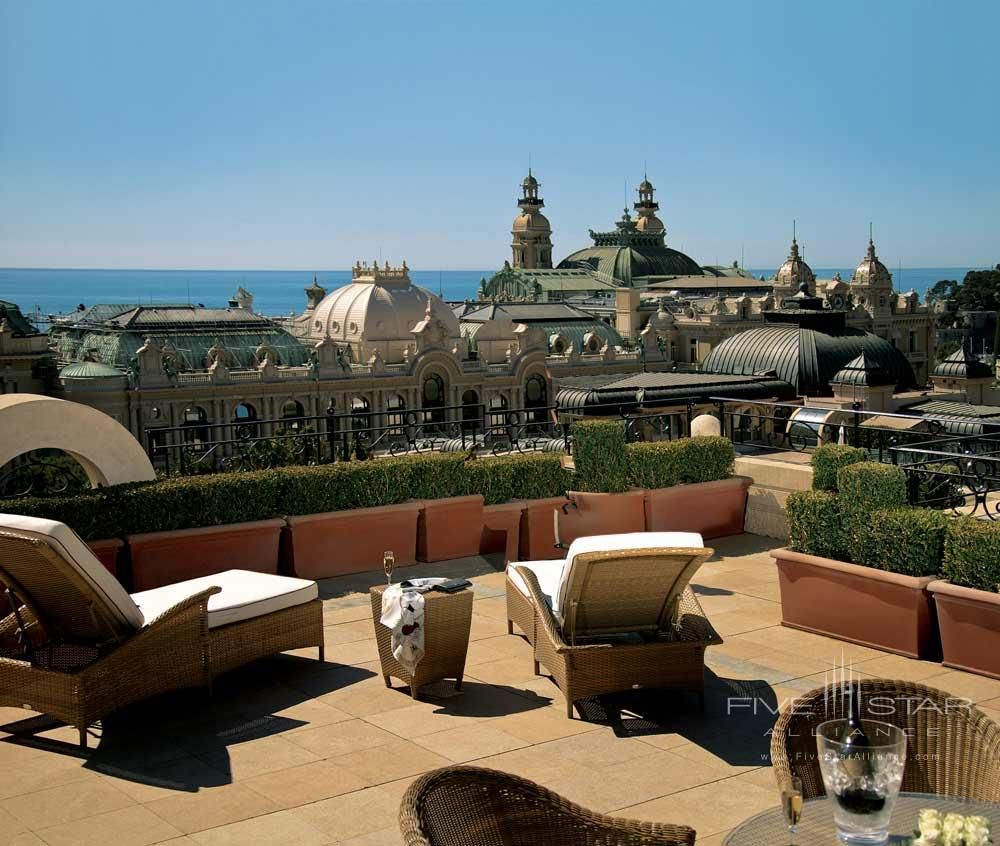 Terrace at Hotel Metropole