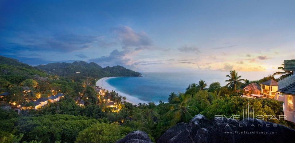 Banyan Tree Seychelles Panoramic View