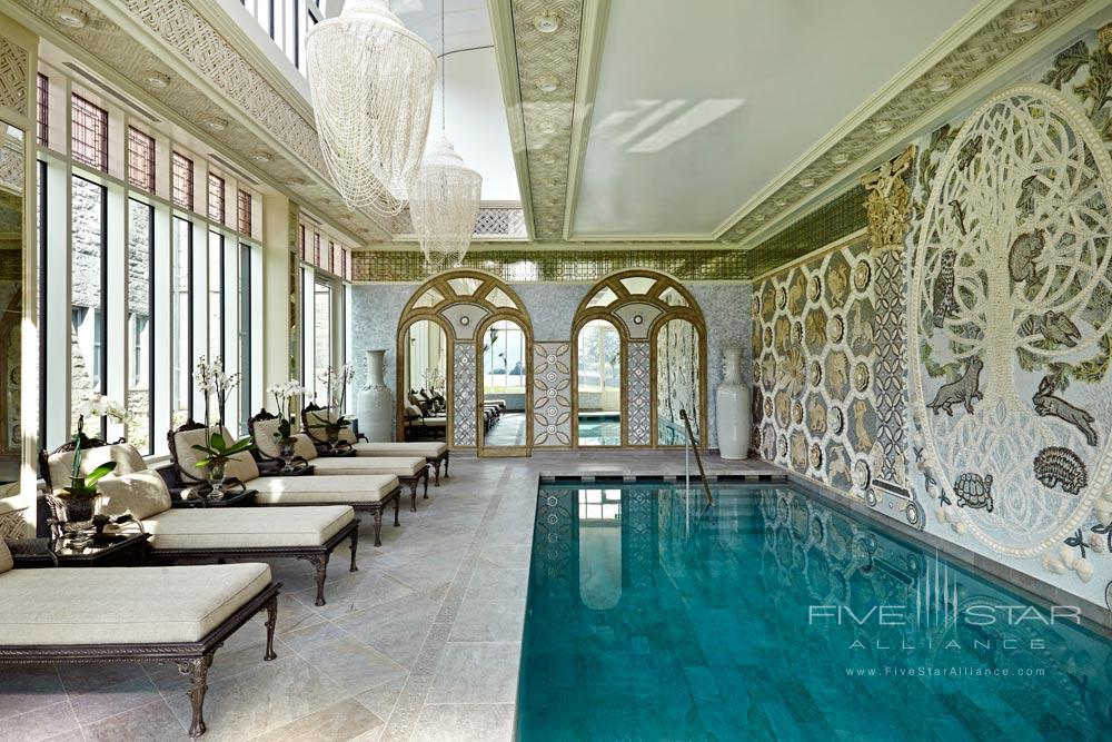 Indoor Pool at Ashford Castle County Mayo, Ireland