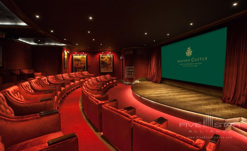 Cinema at Ashford Castle County Mayo, Ireland