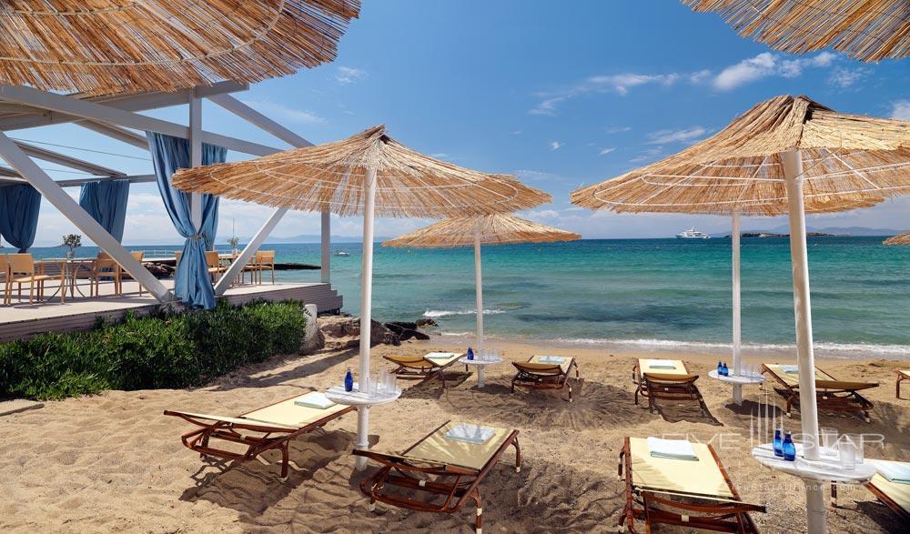 Beach and Lounge at Divani Apollon Palace And SpaGreece