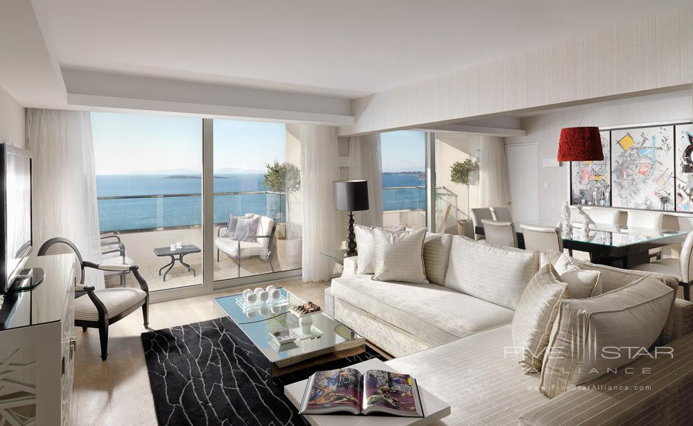 Presidential Suite Living Room at Divani Apollon Palace And SpaGreece
