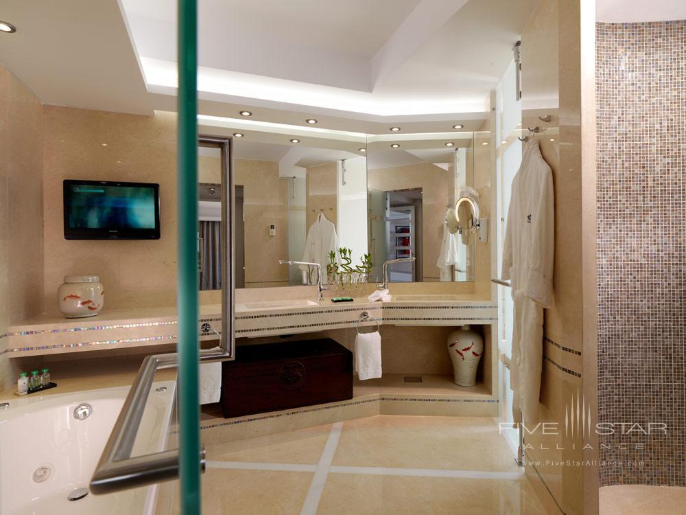 Presidential Suite Bath at Divani Apollon Palace And SpaGreece