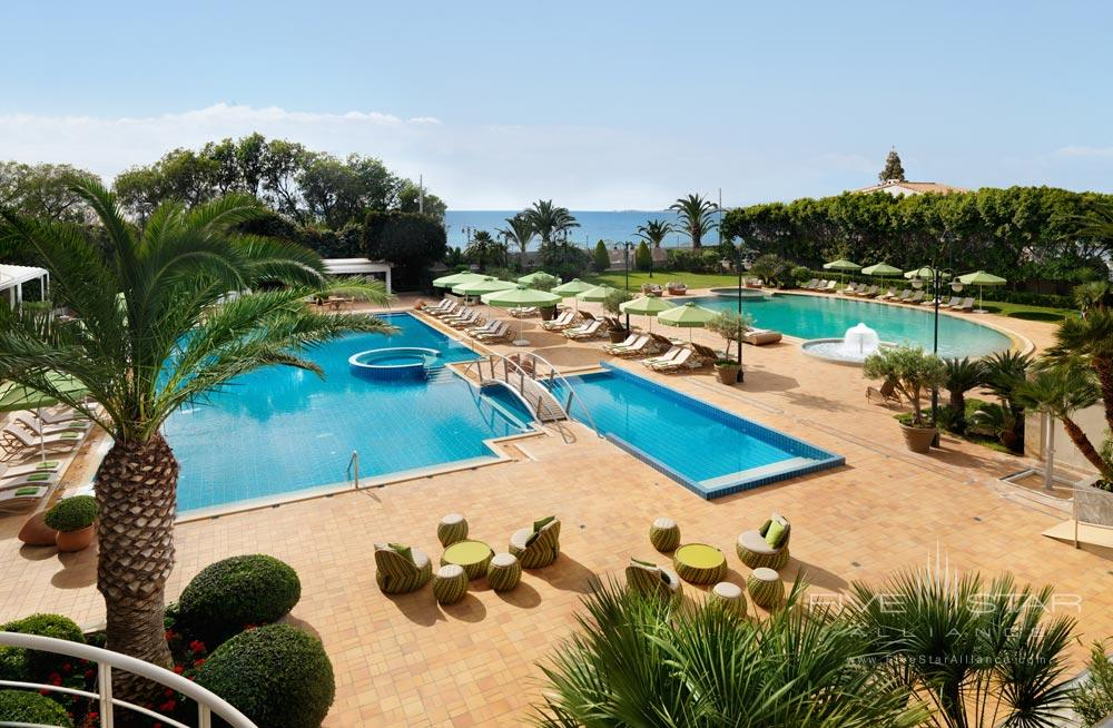Outdoor Pool at Divani Apollon Palace And SpaGreece