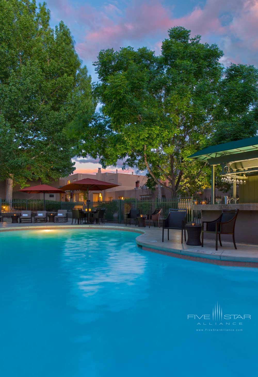 Outdoor Pool at La Posada De Santa Fe Resort and Spa, Santa Fe, NM
