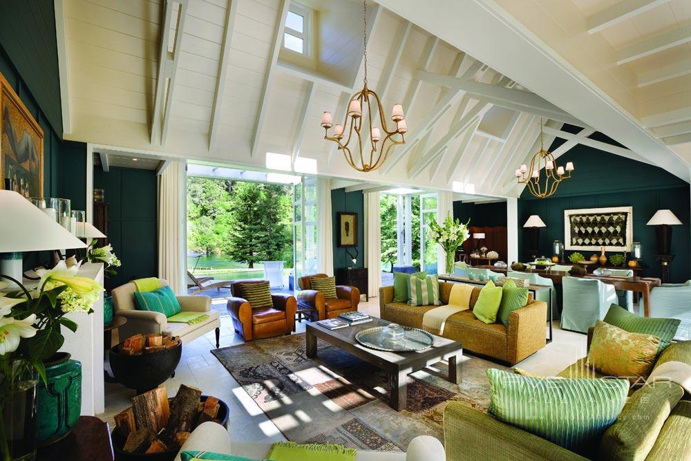 Cottage Living Room at The Huka LodgeNew Zealand