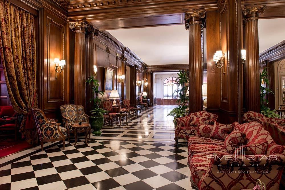 Lobby at Raphael Paris