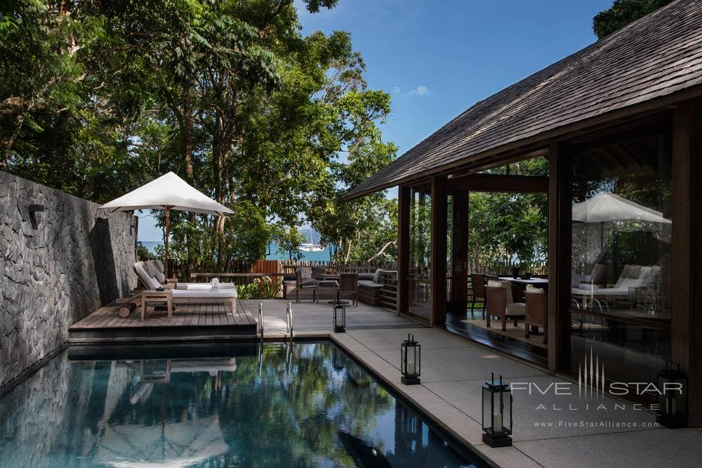 One Bedroom Beach Villa at The Datai LangkawiMalaysia