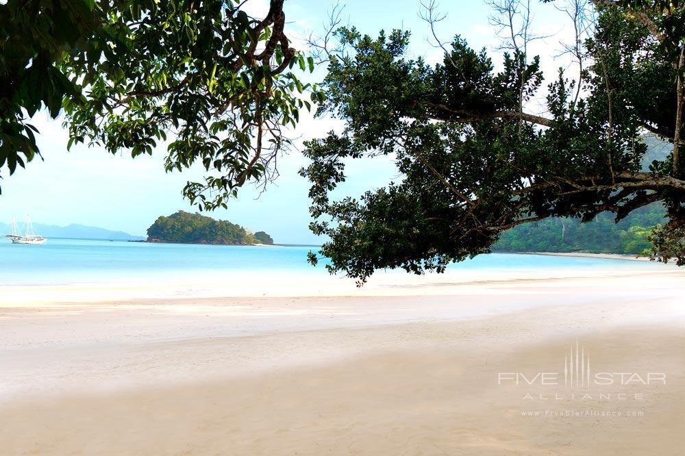 Beach at The Datai LangkawiMalaysia