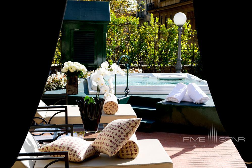 Via Veneto Suite Terrace at Hotel Majestic Roma, Italy