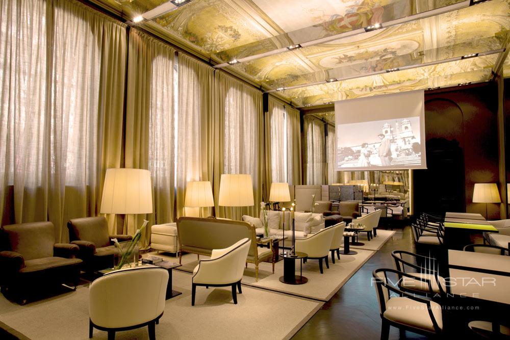 Sala Verde at Hotel Majestic RomaItaly