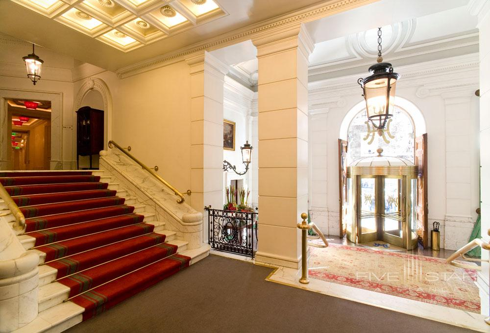 Lobby of The Hotel Majestic RomaItaly