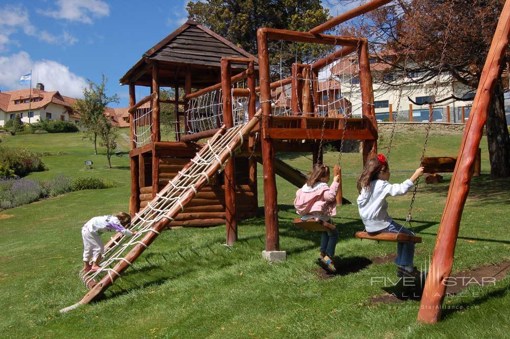 Children Play Area at Llao Llao Hotel BarilocheArgentina