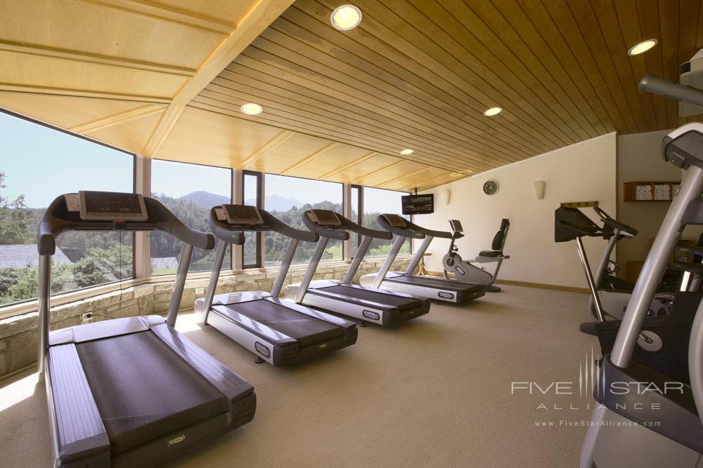 Gym at Llao Llao Hotel BarilocheArgentina