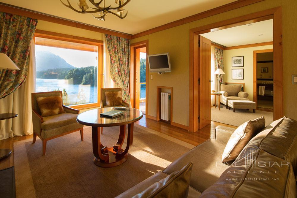 Lago Moreno De Lujo Suite at LLao LLao Hotel BarilocheArgentina