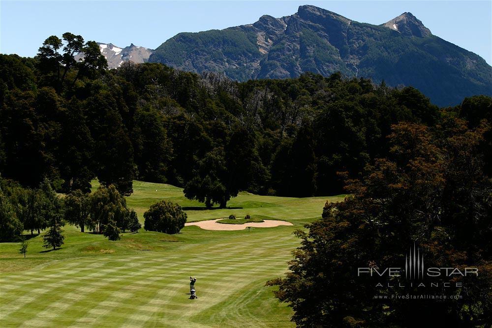 Golf Course at Llao Llao Hotel BarilocheArgentina