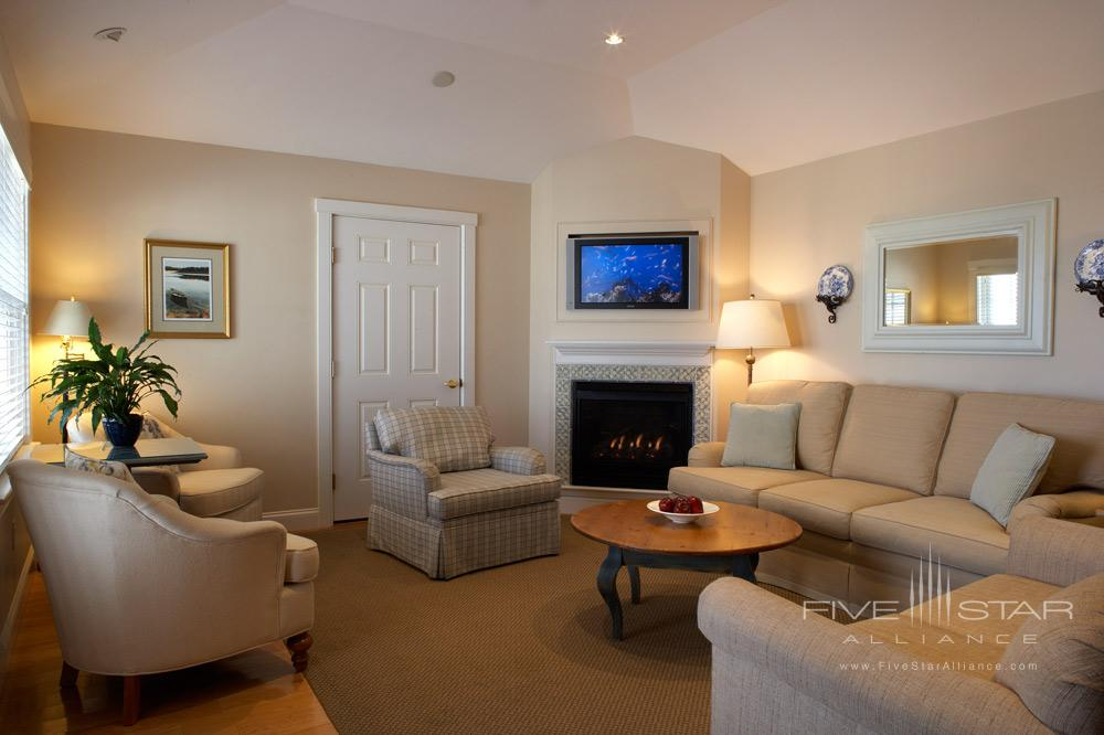Cottage Suite Living Room at Chatham Bars InnChathamMA