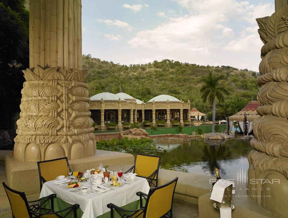 Terrace Dining at The Palace of the Lost CitySouth Africa