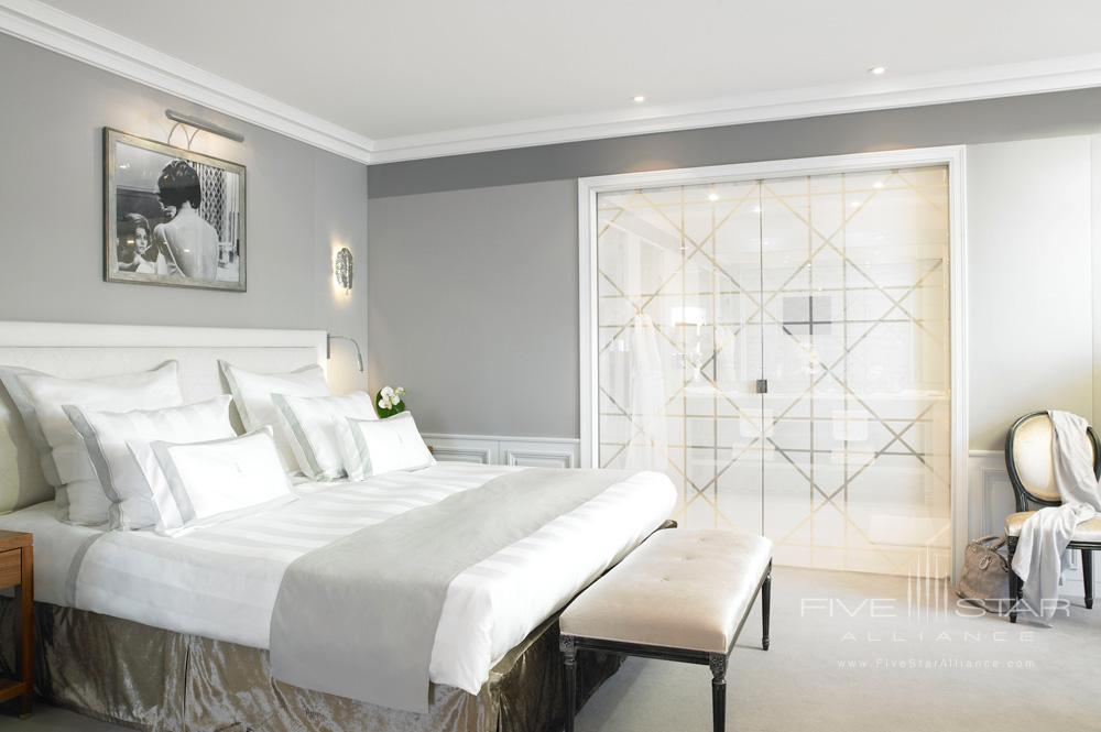 Guestroom at Hotel Barriere Le Majestic CannesFrance