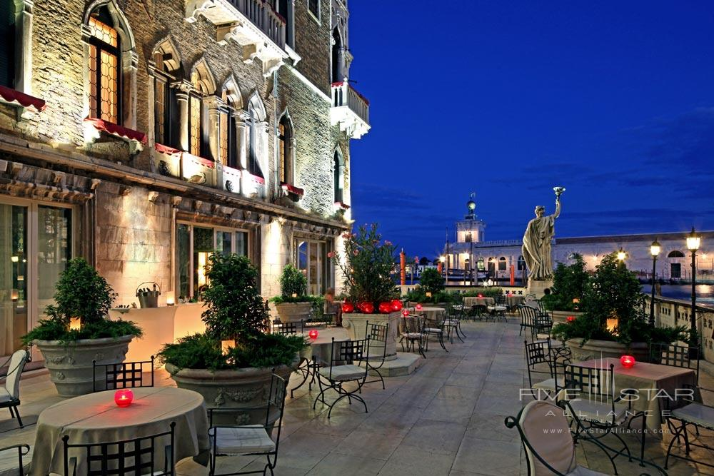 Bar Canale Terrace at Bauer Palazzo VeniceItaly