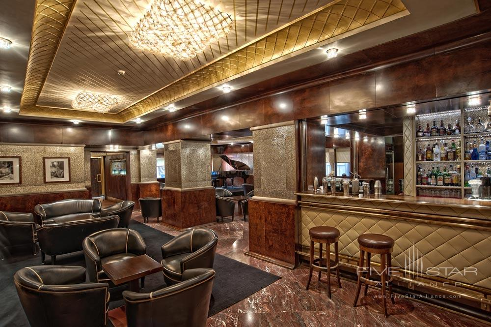 Bar and Lounge at Bauer Palazzo, Venice, Italy