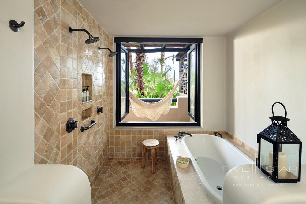 Garden Casita Bath at Esperanza ResortCabo San LucasMexico