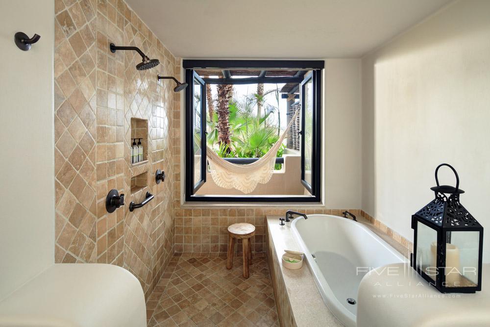 Garden Casita Bath at Esperanza Resort, CAbo San Lucas, Mexico