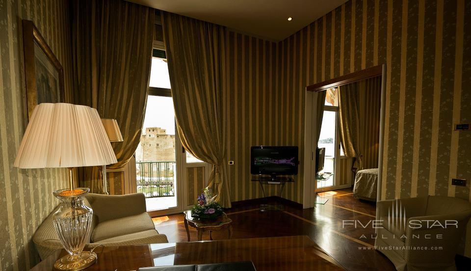 Grand Hotel Vesuvio Deluxe Junior Suite Sea View