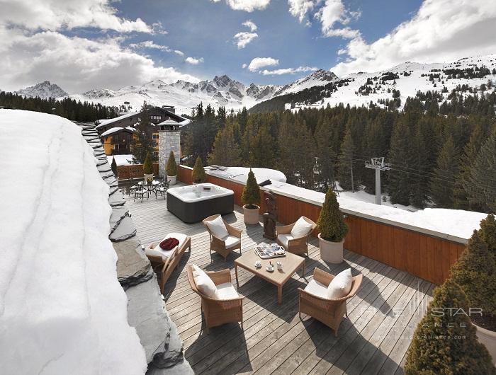 Hotel De Charme Les Airelles Terrace